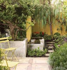 Nancy Goslee-Power's residence another water feature in her gorgeous garden