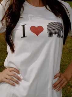 I Heart Alabama Fitted TShirt by em8988 on Etsy, $15.00