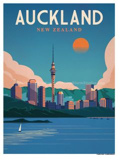 Image of Auckland Poster