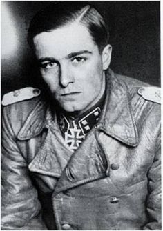 Joachim Peiper was a field officer in the Waffen-SS during World War II & personal adjutant to Reichsführer-SS Heinrich Himmler between November 1940 & August 1941. By 1945 he was an SS-Standartenführer & the Waffen-SSs youngest regimental colonel. He was convicted of war crimes committed in Belgium & accused of war crimes in Italy. He was murdered in France in July 1976 after his house was attacked with Molotov cocktails...