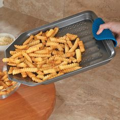 Shop CHEFS Nonstick French Fry Baking Sheet at CHEFS.