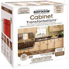 Rust-Oleum Transformations Dark Color Cabinet Kit (9-Piece ...