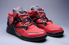 Deadpool Reebok Sneakers Yeeeesssss