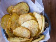 Keď sa naučíte tento recept na zdravšie čipsy, už nikdy si ich nekúpite v obchode French Toast, Potatoes, Vegetables, Breakfast, Food, Morning Coffee, Potato, Essen, Vegetable Recipes