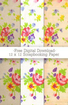 Free Vintage Floral