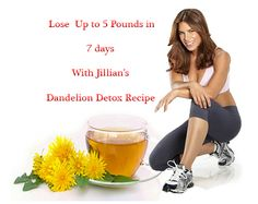 Jillian Michaels Detox Drink distilled water, cranberry juice, lemon juice, dandelion root tea bag.