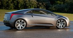 This is the upcoming Cadillac ELR extended range electric coupe. This one looks like the new CTS coupe meets Lambo.