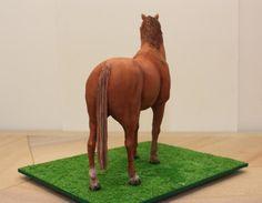 Standing horse cake