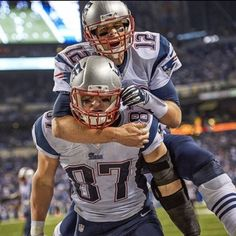 Welcome back 12! Let's go for a thrill ride! #Gronk 10-4-16