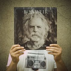"""#seLPhie (autoritratto in 12 pollici / 12"""" selfportrait) by GIAN (bass) -> Bob Weir, 'Blue Mountain', 2016, Legacy / Coumbia 