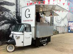 Three-wheel Street Food Cart