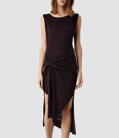 Womens Riviera Tavi Dress (Fawn Marl) - product_image_alt_text_1
