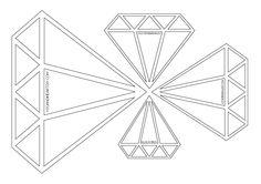 Freebie Diamond Pattern www.youandiheartdiy.com