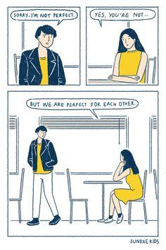 Creative Writing: Tips To Make Your Creative Written Work Sell Cute Couple Comics, Cute Couple Cartoon, Couples Comics, Comics Love, Cute Couple Art, Cute Comics, Funny Comics, Anime Couples, Cute Couples