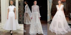 See what top designers have in store for the next wave of brides-to-be.