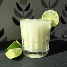 Brazilian Limeade with Cachaça = a tart, creamy, utterly drinkable cocktail.