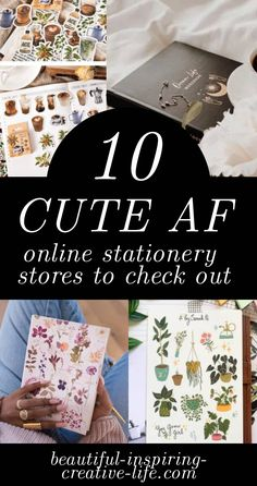 Do you love bullet journalling or using a planner to organise your life with? Well, then you need to check out these cute stationery stores! Papaya Art, Online Stationery Store, Best Planners, Paperchase, Cute Stationery, Organize Your Life, Rifle Paper Co, Fun To Be One, People