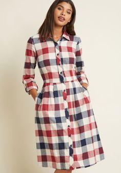 Jam, Girl Shirt Dress in Mixed Berry, Buffalo Plaid Flannel Dress, Plaid Dress, Flannel Shirt, Buffalo Plaid Shirt, Check Dress, African Dress, Shirts For Girls, Dress Patterns, Designer Dresses