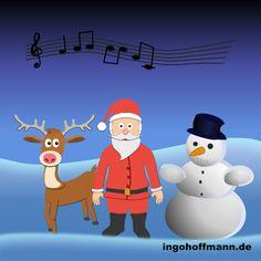 Der Weihnachtsmann tanzt mit seinem Rentier und dem Schneemann, mit Moho 12 erstellt (früher Anime Studio). Anleitung zum nachzeichnen und animieren im Blog-Post! Animation, Poster, Family Guy, Guys, Studio, Blog, Anime, Fictional Characters, Art