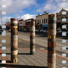 2-7-12: A view of Auburn Street, Goulburn,, NSW, Australia.