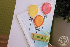 Sunny Studio Stamps - Birthday Balloon