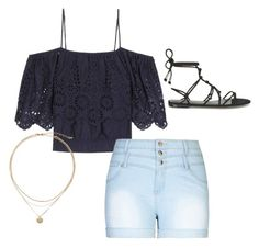 """""""Oh summer!"""" by maggiekane1 on Polyvore featuring Ganni, City Chic, Rebecca Minkoff and plus size clothing"""