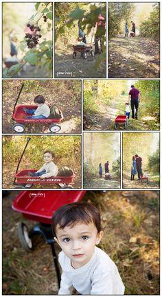 family session, kids session, radio flyer wagon, toddler posing, family kid posing, family photos urban utopia photography, seattle WA, natural light on location photographer Dana McGlocklin www.urbanutopiaphotography.com