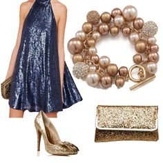 Every sparkly dress needs some matching sparkly accessories!