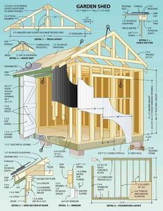 Shed Ideas - CLICK THE IMAGE for Various Shed Ideas. #diyproject #sheddesigns
