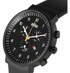 Braun x Dieter RamsBN0035 Stainless Steel Chronograph Watch