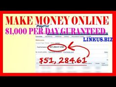 How To Make Money Online Fast From Home 2017   Ger Rich Quick $1,000 Per...