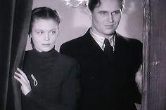 Irma Seikkula and Olavi Reimas (oh, he is so fine!) in Varaventtiili (1942)