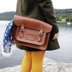 """347 Likes, 22 Comments - Blogger at Polkadot Pink ⛅🌈⛅ (@polkadot.pink) on Instagram: """"LOCH LOMOND 🎒 Exploring with one of my trusty Cambridge Satchels 🎒 Sneaky peek of my next outfit…"""""""