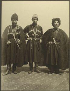 Russian Cossacks on Ellis Island ca 1906