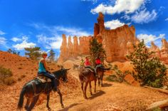Paardrijden in de Bryce Canyon