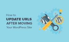One click solution on How to Update URLs quickly when moving your WordPress site with Velvet Blues Plugin for WordPress.