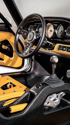 Classic Cars Interior Porsche 911 70 Trendy Ideas - Custom Cars West: Used Cars Englewood Porsche Panamera, Porsche 911, Porsche Autos, Porsche Classic, Classic Cars, Custom Car Interior, Car Interior Design, Interior Rendering, Luxury Cars Interior