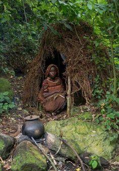 Batwa woman from uganda
