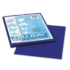 TruRay Construction Paper Sulphite 9 x 12 Royal Blue 50 Sheets Set of 3 *** You can get additional details at the image link.-It is an affiliate link to Amazon. #DrawingPaintingSupplies