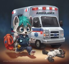 Little EMT by Silverfox5213.deviantart.com on @DeviantArt