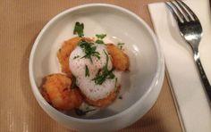 Pollop - crevettes à la coriandre, bouillon coco-citronnelle
