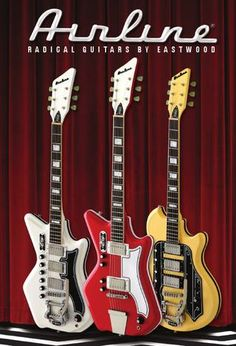 Cover of Airline Guitars Products 2011