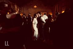 Quite possibly one of our favorite dancing photos yet.  Jed + Anne's December wedding. Photos by LES LOUPS pictures + songs.