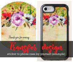 New option on where you can transfer a design into a different product that you want by yourself. Holiday Gift Guide, Holiday Gifts, Phone Cases, Birthday, Tips, Party, Design, Christmas Presents, Fiesta Party
