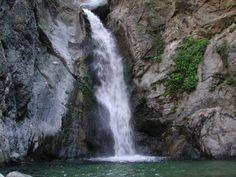 10 Wodospady w południowej Kalifornii