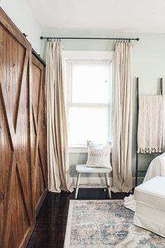 Drop Cloth Curtains, Diy Curtains, Bedroom Curtains, Rustic Curtains, Canvas Curtains, Luxury Curtains, Curtains Living, Modern Curtains, Farmhouse Style Curtains