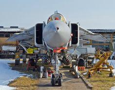 All sizes | _MG_0138 Mikoyan Gurevich MiG-23MF (NATO name 'Flogger-B'), Riga Aviation Museum, Latvia 09Mar12 | Flickr - Photo Sharing!