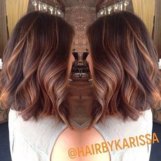 67 Ideas Hair Color Ideas For Brunettes Balayage Copper Caramel Highlights For 2019 Hair Color And Cut, Hair Colour, Tiger Eye Hair Color, Great Hair, Hair Today, Pretty Hairstyles, Wedding Hairstyles, Girl Hairstyles, Gorgeous Hair