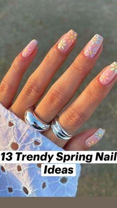 Beige Nails, Soft Nails, Beige Nail Art, Cute Gel Nails, Pretty Nails, Simple Gel Nails, Cute Simple Nails, Cute Spring Nails, Summer Nails