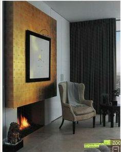 Philip Jefferies Fireplace